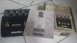 Bass attack pedal effect HARTKE
