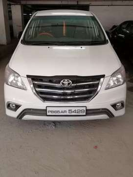 Innova 8 seater is available on rent at affordable price.