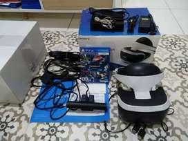 PSVR dan kaset vr. Playstation vr ps4 vr.