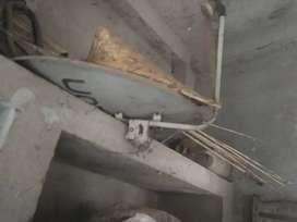 Vediocon dish antenna
