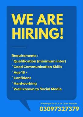 Jobs Available For Males and Females