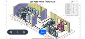 Drafter autocad plant 3D