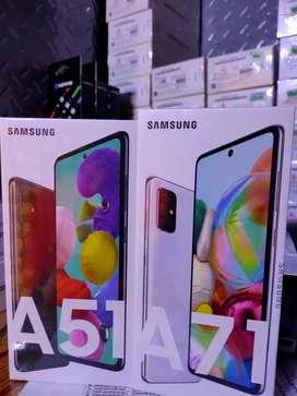 Samsung galaxy  A71 dan A51