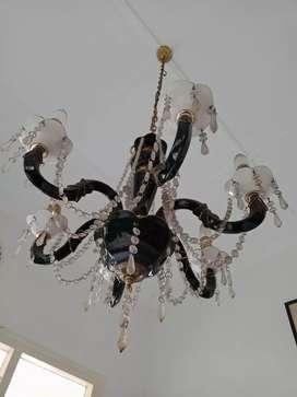 2 chandelier lampu gantung cantik exclusive