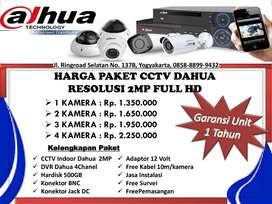 Pasang CCTV Dahua Harga Dijamin Terjangkau
