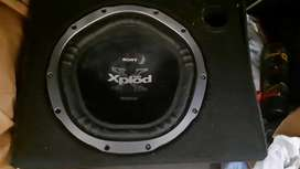 1000 Watts Sony Xplod Woofers rarely used.