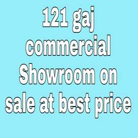 121 gaj Showroom is available in Aerocity at best price