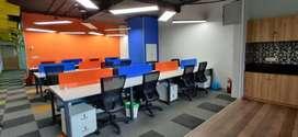 35 Seater Fully Furnished Commercial  Office For Rent At New Palasia