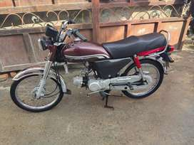 honda cd 70   2018 model new condition origenal every thing