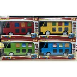 Mainan Mobil Tayo versi Rogi Hijau