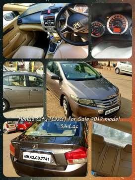 Honda City ivtec, Dec 2011 model, Petrol + CNG