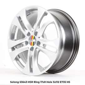 velg racing SELONG 53643 HSR R17X8 H5X112 ET35 HS