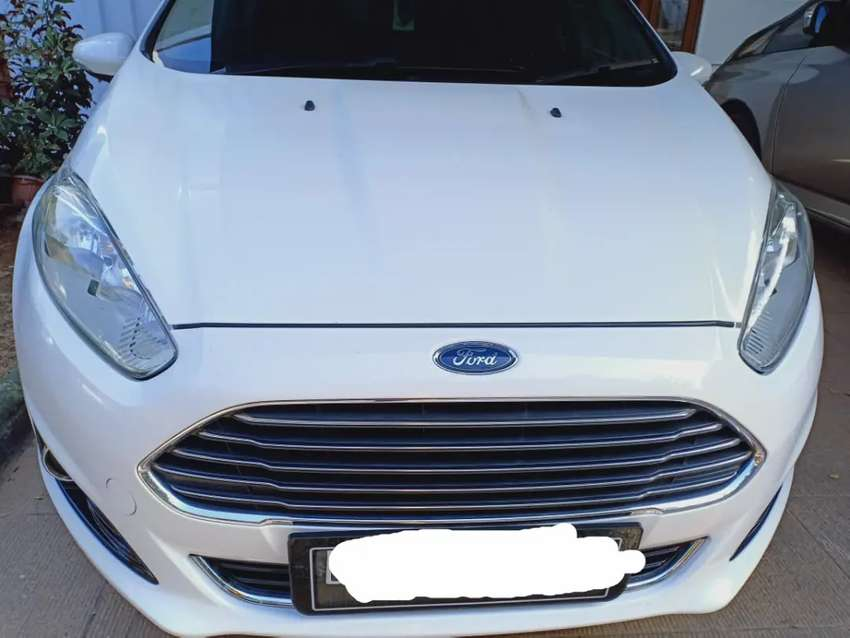 New Ford Fiesta Facelift 0