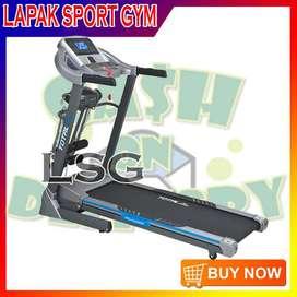 Alat Olahraga Fitness Treadmill Elektrik TL 270 Murah 3 Fungsi