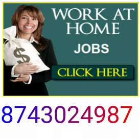 Online promotion work simple typing work at home