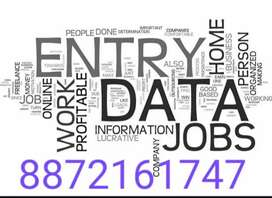 Data typer required as part time full time !!