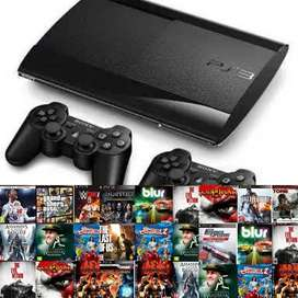 Gaming Sony PS3 500gb with Unlimited Games Warranty And Controller