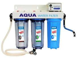 Brand new water filter of Aqua power. Cartridges included