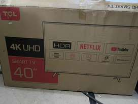 Tcl 40 inch android 4k UHD led