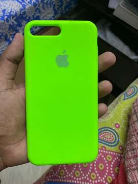 Silicone case for iphone 7 plus 8 plus