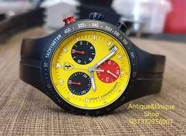 Ferrari chronograph super ganteng