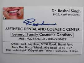 Dental clinic receptionist and assistant