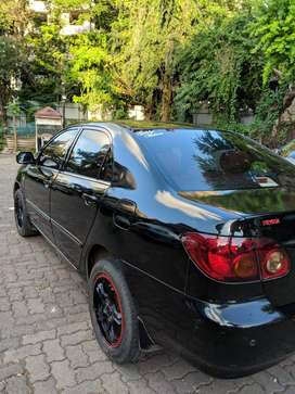 Toyota Corolla 2005 Petrol Best Condition Car Black Color For Sell Now