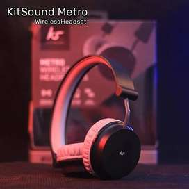KitSound Metro Wireless On-Ear Bluetooth Headphone