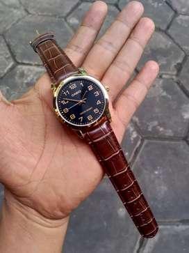 Jam tangan pria Casio mtp-v001 Original
