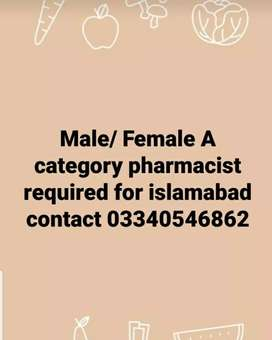 Required A category pharmacist