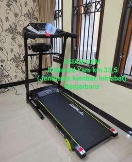 Ready alat fitness treadmill listrik multifungsi gratis ongkir Kalsel