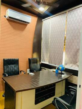 AC furnished office available