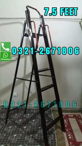 HOUSE CLEANING USED LADDER   BEST QUALITY 7.5 FT