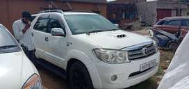 Fortuner 4×4 MT LIMITED EDITION2012 model at showroom condition.