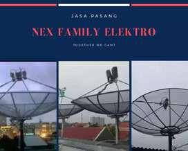 Toko & agen pemasangan parabola kebayoran lama