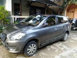 Datsun go+ 3 baris, pjk hidup, plat F Cianjur, super iriit, 59 nett