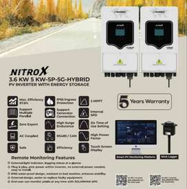 UPS - INVEREX - Solar Hybrid Inverter - Nitrox - 5KW - On Grid