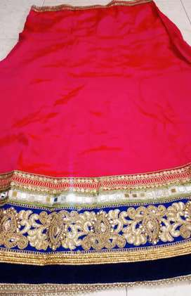 Festive Chaniya Choli semi stitched with dupatta