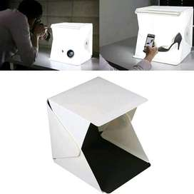 Studio Mini Box Midio Untuk Photo Produk Portable LED Lampu