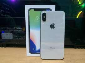 iphone X 64gb SILVER ORIGINAL ALL OPERATOR BU!!