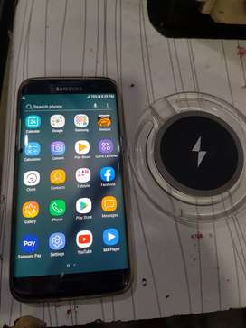 Galaxy S7 edge with wireless charger