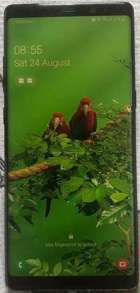 Samsung Note 8, Black colour 6gb ram, 64 gb storage, Good condition