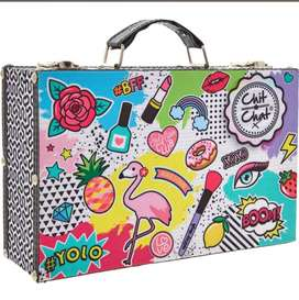 Makeup CHIT CHAT  Multicolour Cosmetics Case