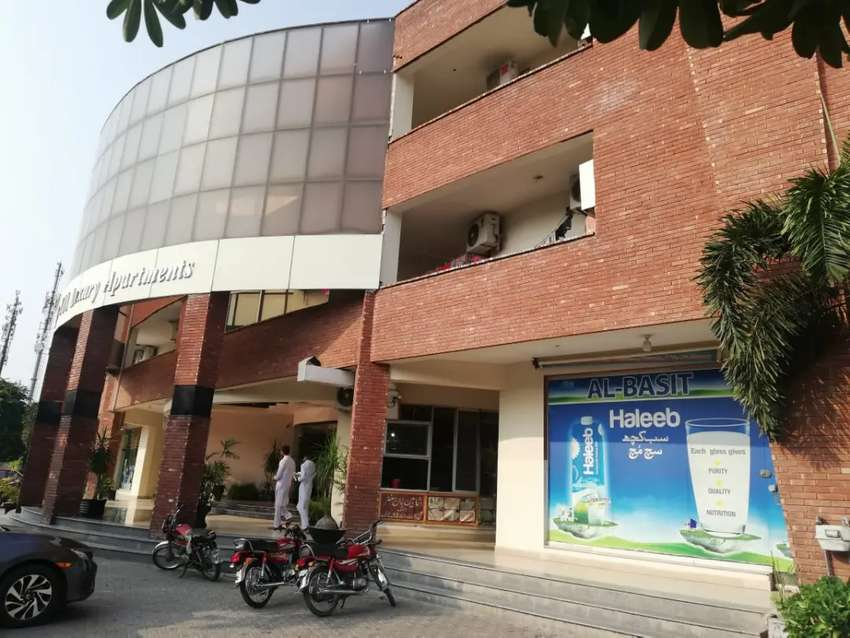 1bed room furnished apartment in 4sale in heights3bahria town rwp