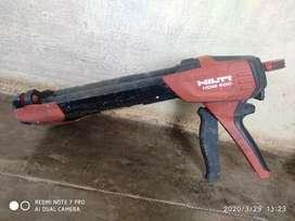 Hilti HDM500 chemical silicon gun