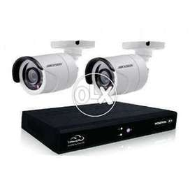 2 Security Cameras with DVR (Free Installation)