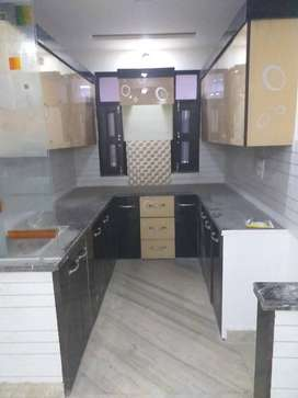 car parking or lift facility in 3bhk floor with 90% home loan facility