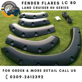 Toyota Land Cruiser 80 Series LC80 Fender Flares Wheel Arch Trims NUTS