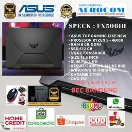 Laptop Asus TUF FX506IH Ryzen 5 4600 / Ram 8GB / Ssd 512GB GTX1650 4GB