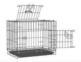 Foldeble dog cage  as good as new for sell